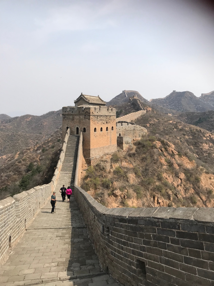 Three hours on The Great Wall of China