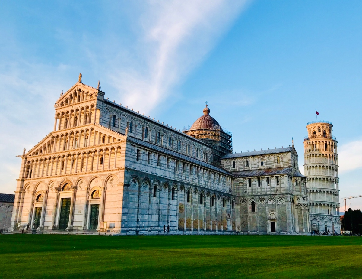 Peaceful in Pisa