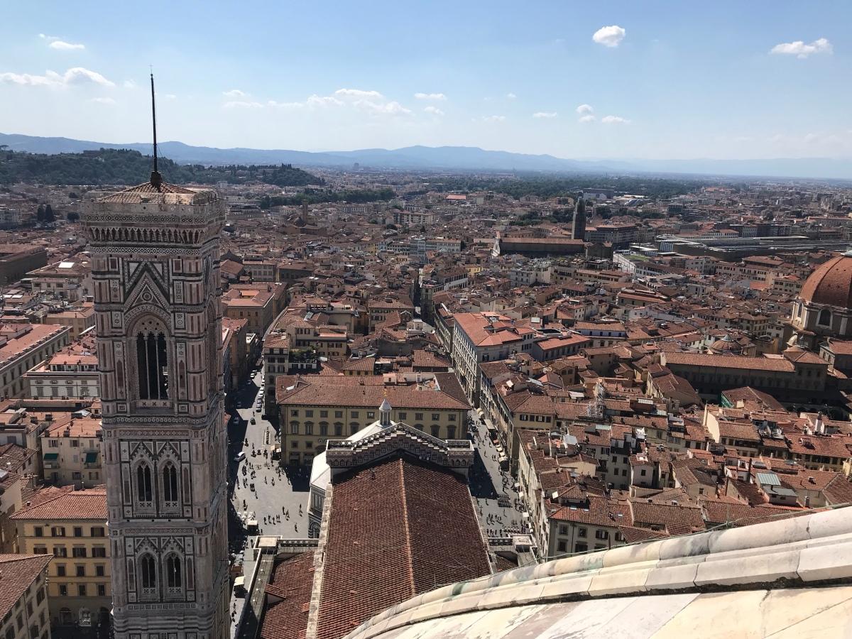 Climbing the Duomo
